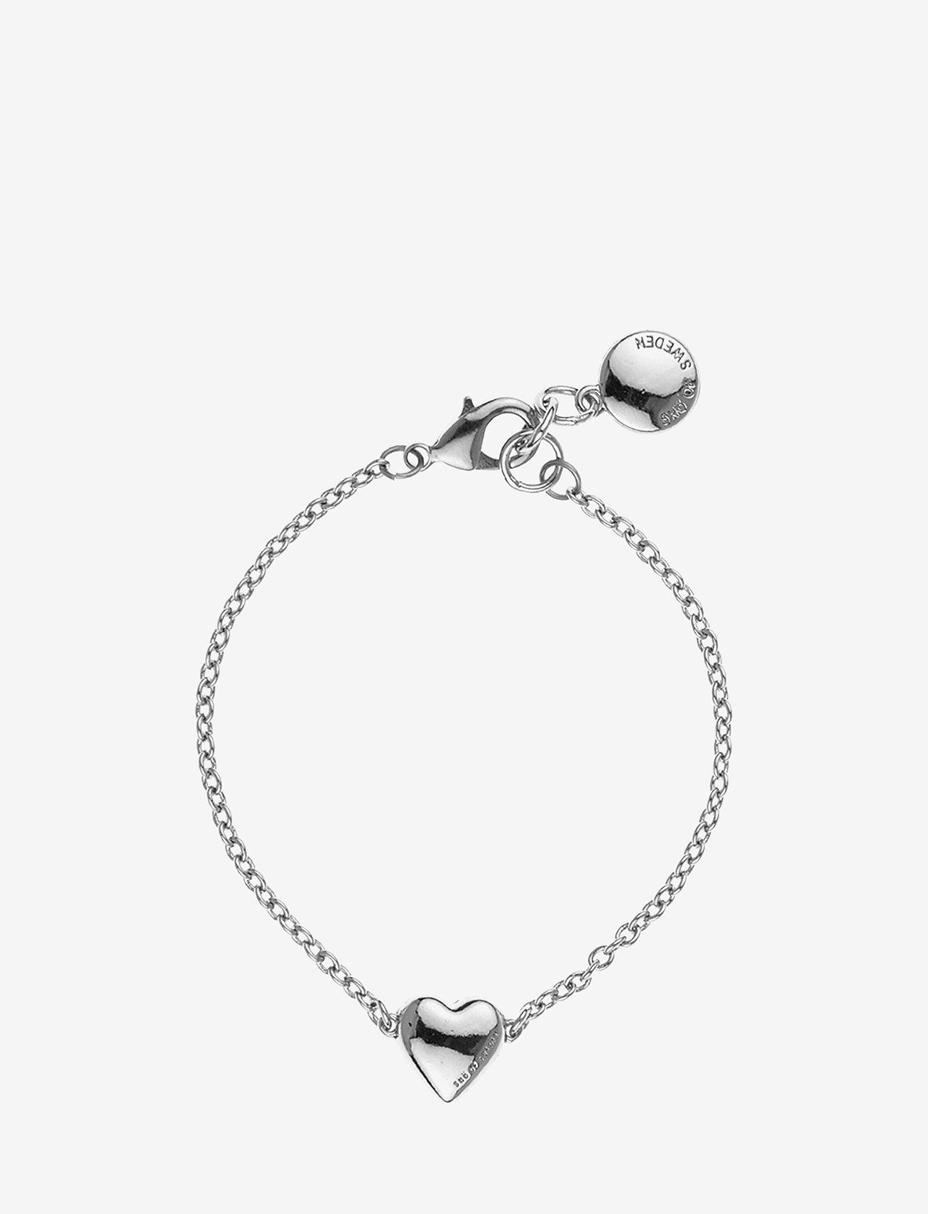 SNÖ of Sweden - Small card chain brace - dainty - plain silver - 0