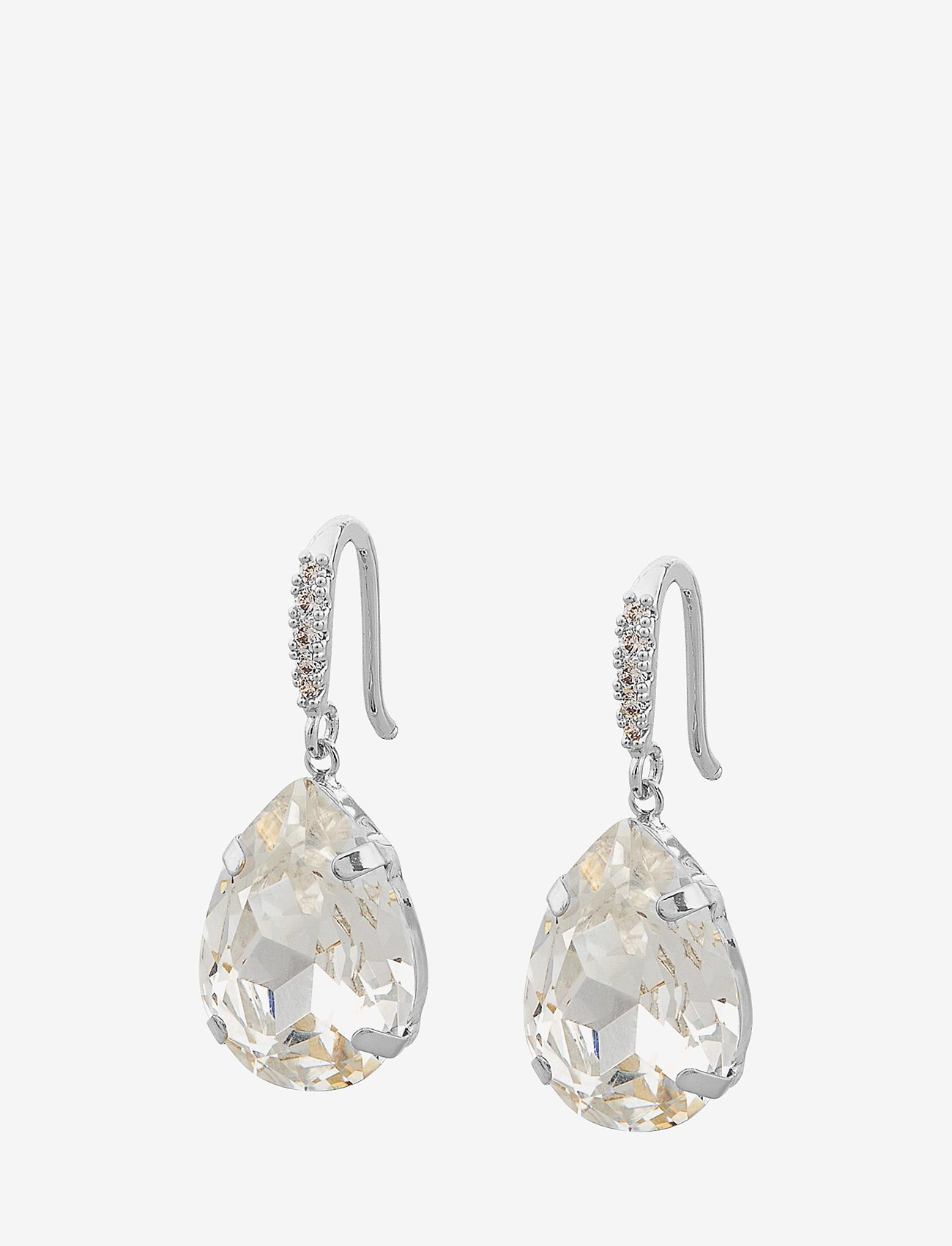 SNÖ of Sweden - Birgit pendant ear s/clear - pendant - s/clear