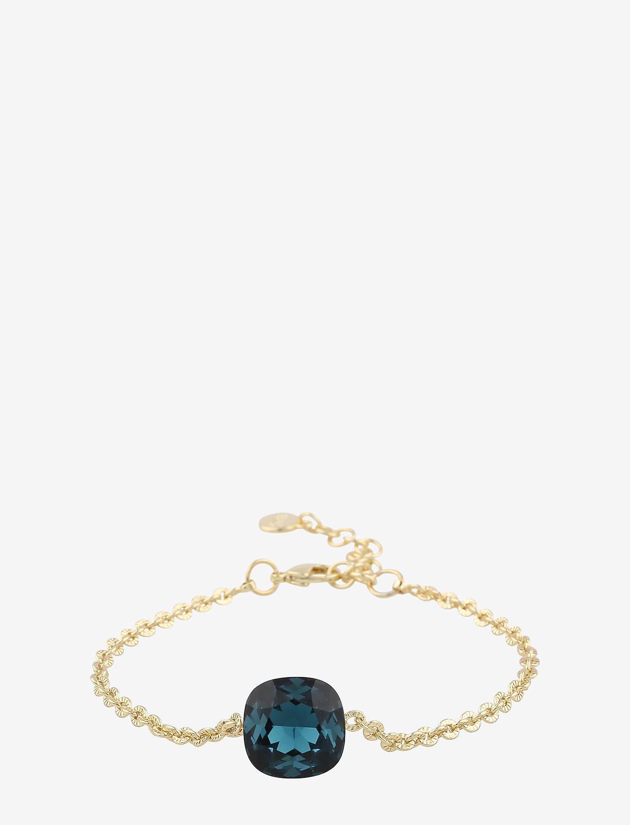 SNÖ of Sweden - Nocturne chain brace - dainty - g/jeans blue - 0