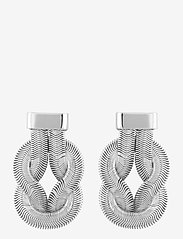 SNÖ of Sweden - Knot big ear plain s - statement earrings - plain s - 0