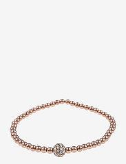 SNÖ of Sweden - Mysk small elastic brace S/M rosé/clear - dainty - rosé/clear - 0