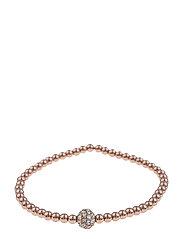 Mysk small elastic brace S/M rosé/clear - ROSé/CLEAR