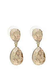 West Broadway pendant ear - G/CHAMPAGNE