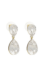 West Broadway pendant ear - G/CLEAR