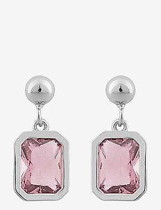 Troy ear - pendant earrings - s/light pink