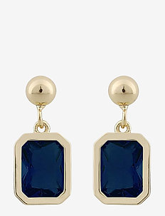 Troy ear - pendant - g/dark blue