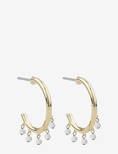 Roc ring ear - creoler - g/white