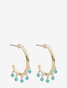 Roc ring ear - creoler - g/turquoise