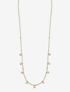 Phoebe charm neck - dainty necklaces - plain g