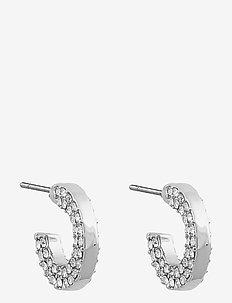 Mari small oval ear - korvarenkaat - s/clear