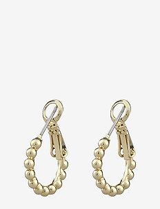 Minna small ring ball ear - hoops - plain g