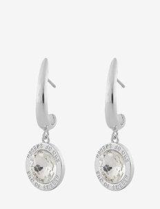 Twenty pendant ear s/clear - oorhangers - s/clear