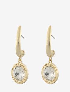 Twenty pendant ear g/clear - oorhangers - g/clear