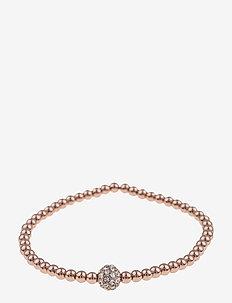 Mysk small elastic brace S/M rosé/clear - dainty - rosé/clear