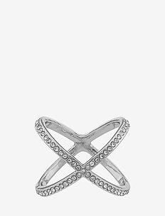 Lily ring L s/clear - rings - s/clear