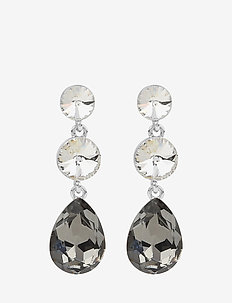 Novalie pendant ear s/grey - S/GREY