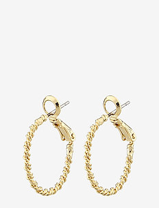 Madeleine ring ear 20mm plain g - hoops - plain g