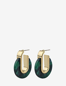 Gray small oval ear g/green - G/GREEN