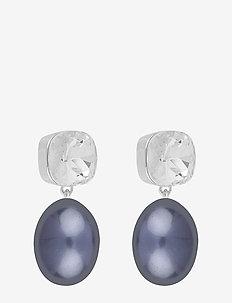 Muse pendant ear - S/JEANS BLUE