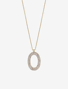 Doreen pendant neck 42 g/clear - G/CLEAR