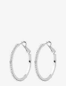 Ciel ring ear - creoler - s/clear
