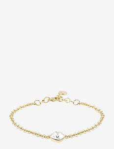 Nocturne small chain brace g/clear - dainty - g/clear