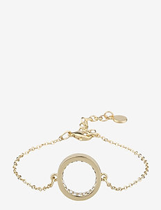 Casey chain brace g/clear - dainty - g/clear