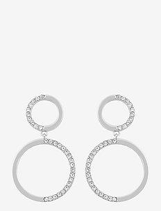 Portal pendant ear s/clear - hengende øreringer - s/clear