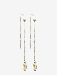 Shelly chain ear - pendant - plain g