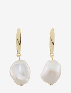 Maxime ear - oorhangers - g/white