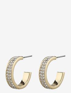 Saint Tropez small ring ear - creoler - g/clear