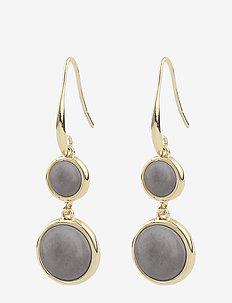 Agatha pendant ear - pendant - g/grey