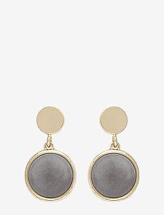Agatha short ear - pendant - g/grey