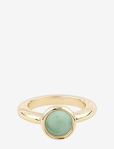 Agatha ring - rings - g/green