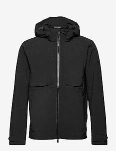 OCEASE JKT M - wandel- en regenjassen - black