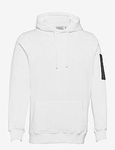 COLLEGNO DUE HOODIE - hoodies - white
