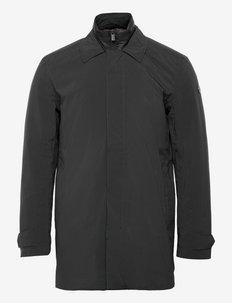 RIVELLO COAT M - cienkie płaszcze - black