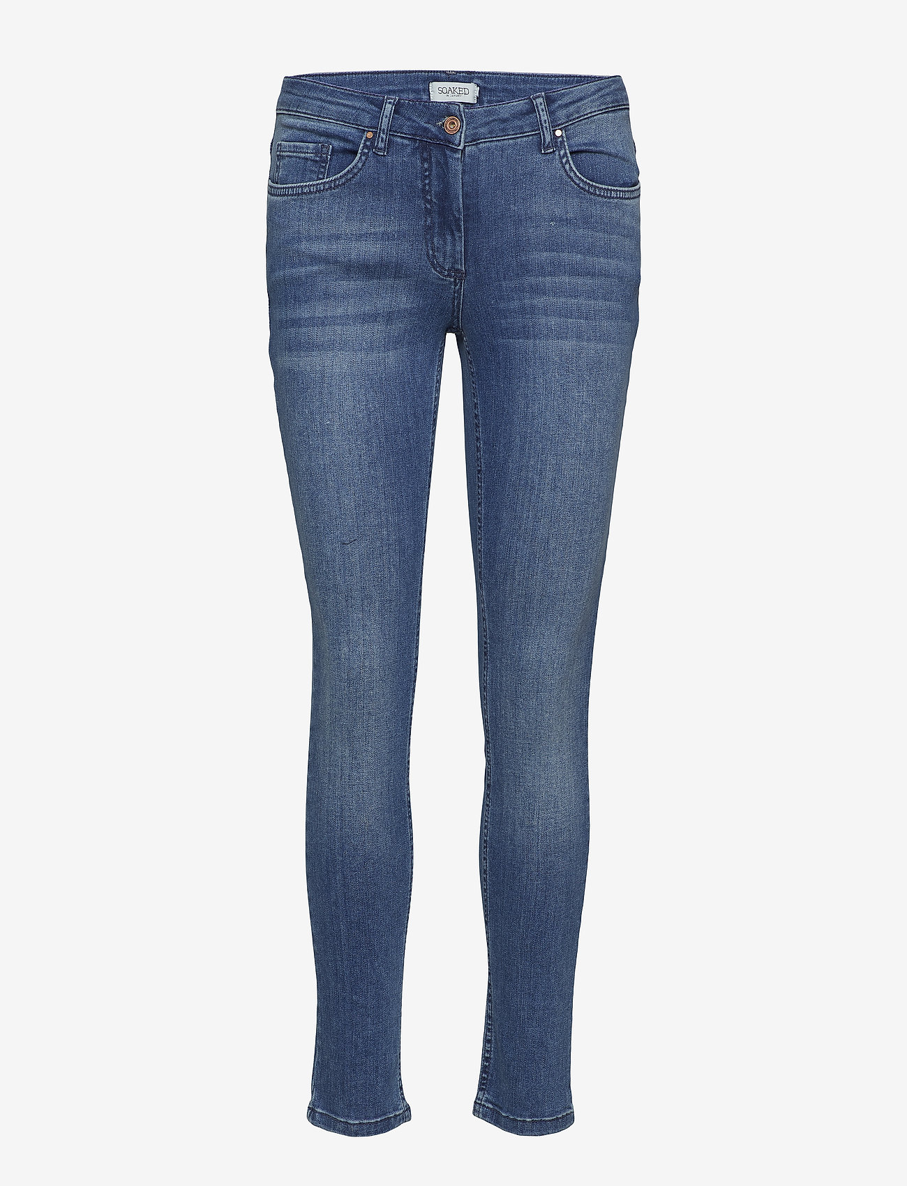 Soaked in Luxury - Callas Jeans - wąskie dżinsy - medium blue denim - 1