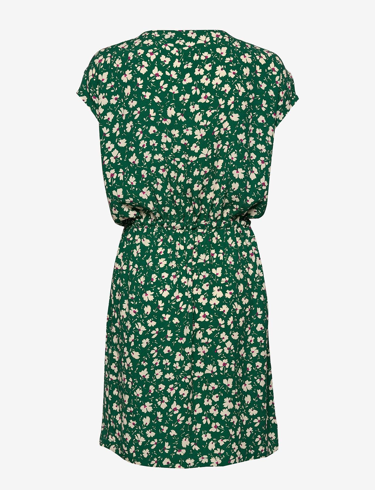 Sl Lavada Dress (Pine Green Flower Print) - Soaked in Luxury BxCqYL