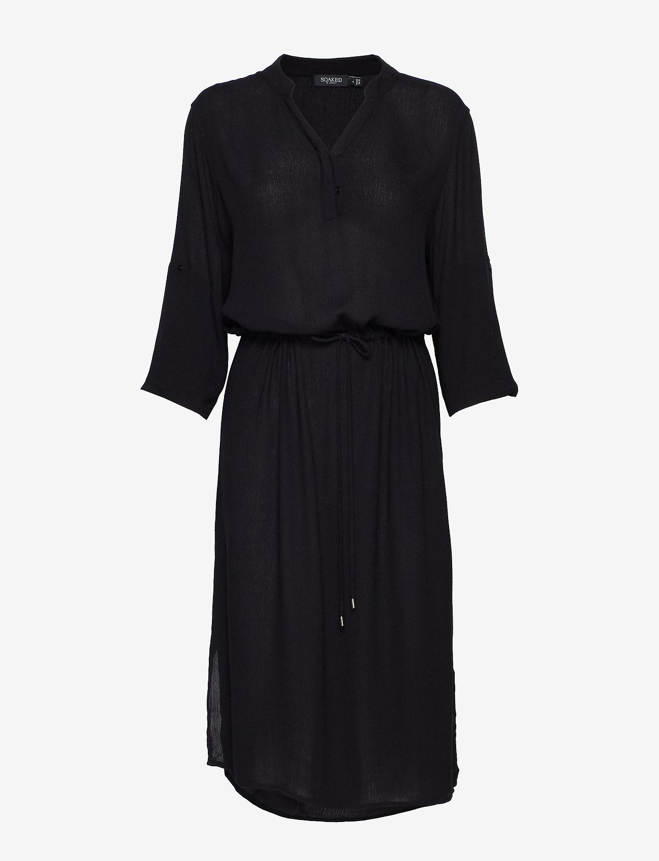 Soaked in Luxury - SL Zaya Dress - vardagsklänningar - black - 1