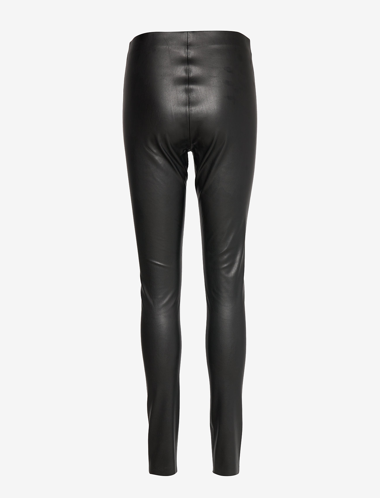Soaked in Luxury - SL Kaylee PU Leggings - lederhosen - black - 1