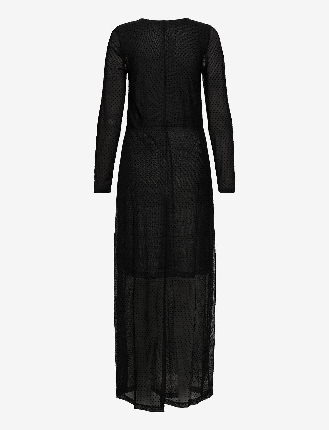 Soaked in Luxury - Piper Dress LS - kveldskjoler - black - 1