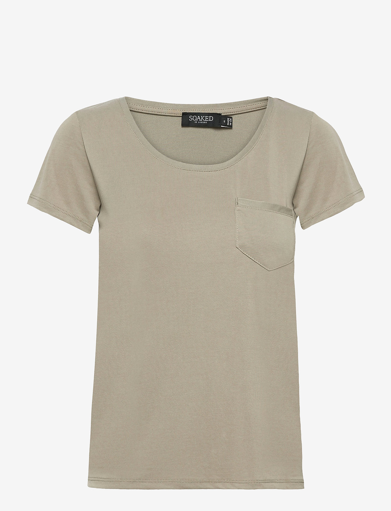 Soaked in Luxury - SLColumbine Tee - t-shirts - vetiver - 1