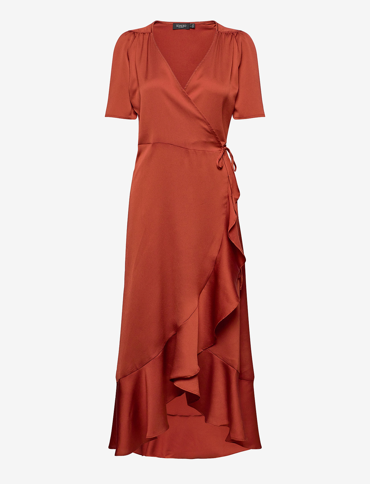 Sl Karven Dress (Barn Red) - Soaked in Luxury SOVaYC