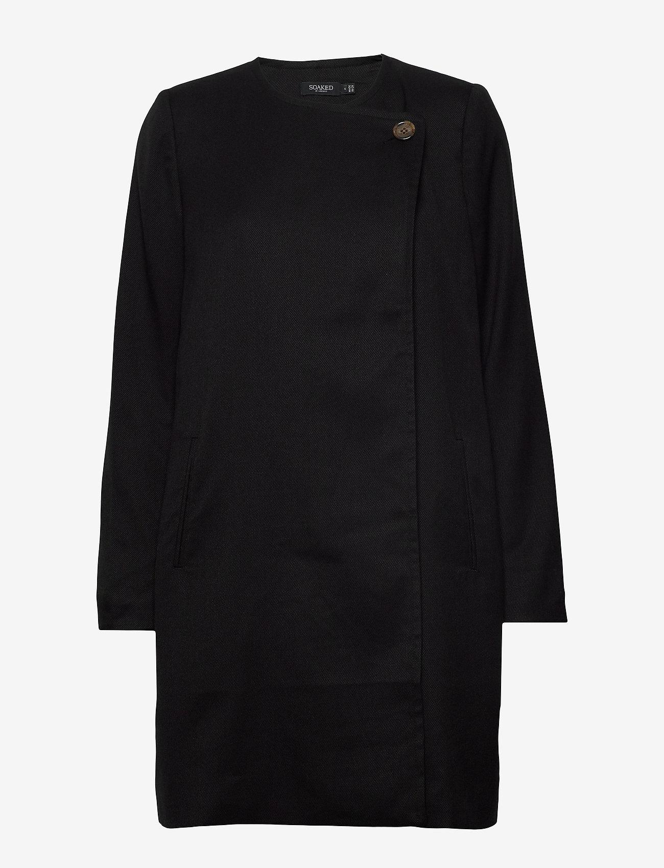 Slmerle Coat (Black) (130 €) - Soaked in Luxury 94uyt