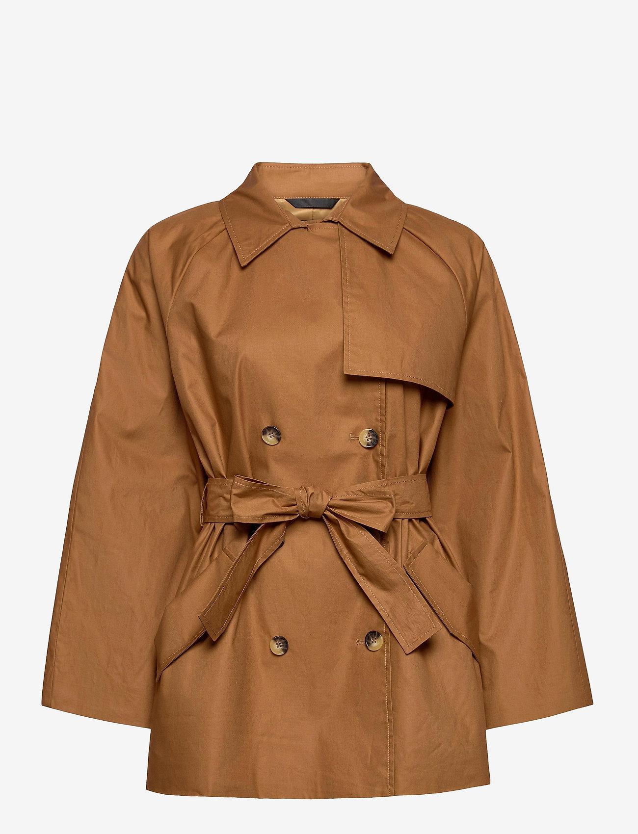 Soaked in Luxury - SLChicago Short Trenchcoat - trenchcoats - rubber - 1