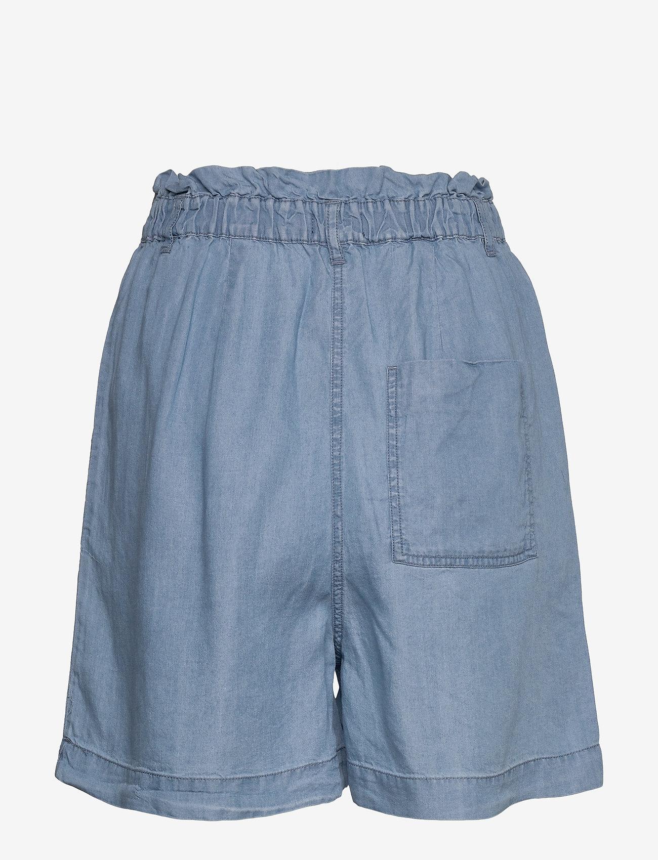 Soaked in Luxury SLKesia Shorts - Szorty MEDIUM BLUE DENIM - Kobiety Odzież.