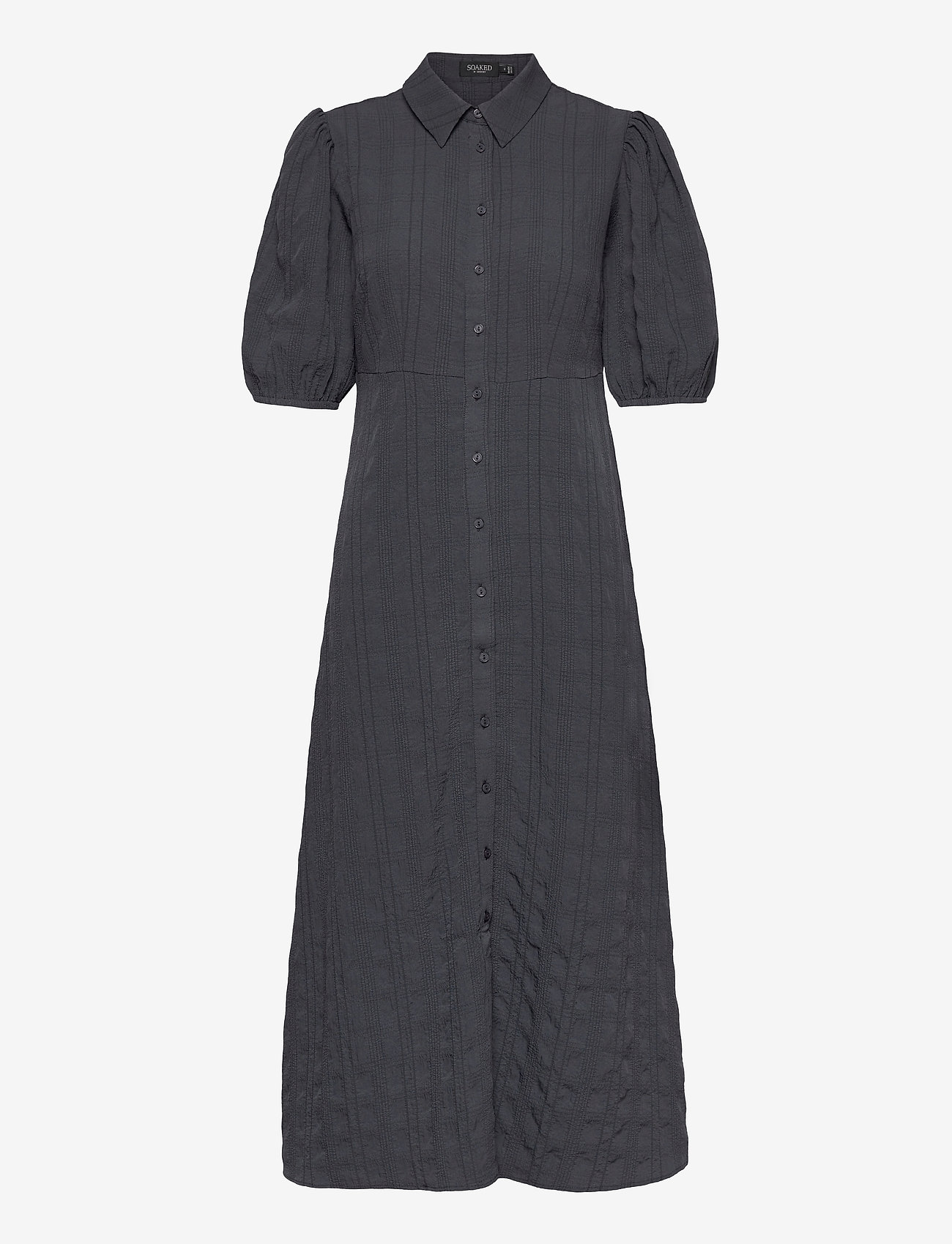 Soaked in Luxury - SLBrickle Shirt Dress SS - alledaagse jurken - india ink - 1