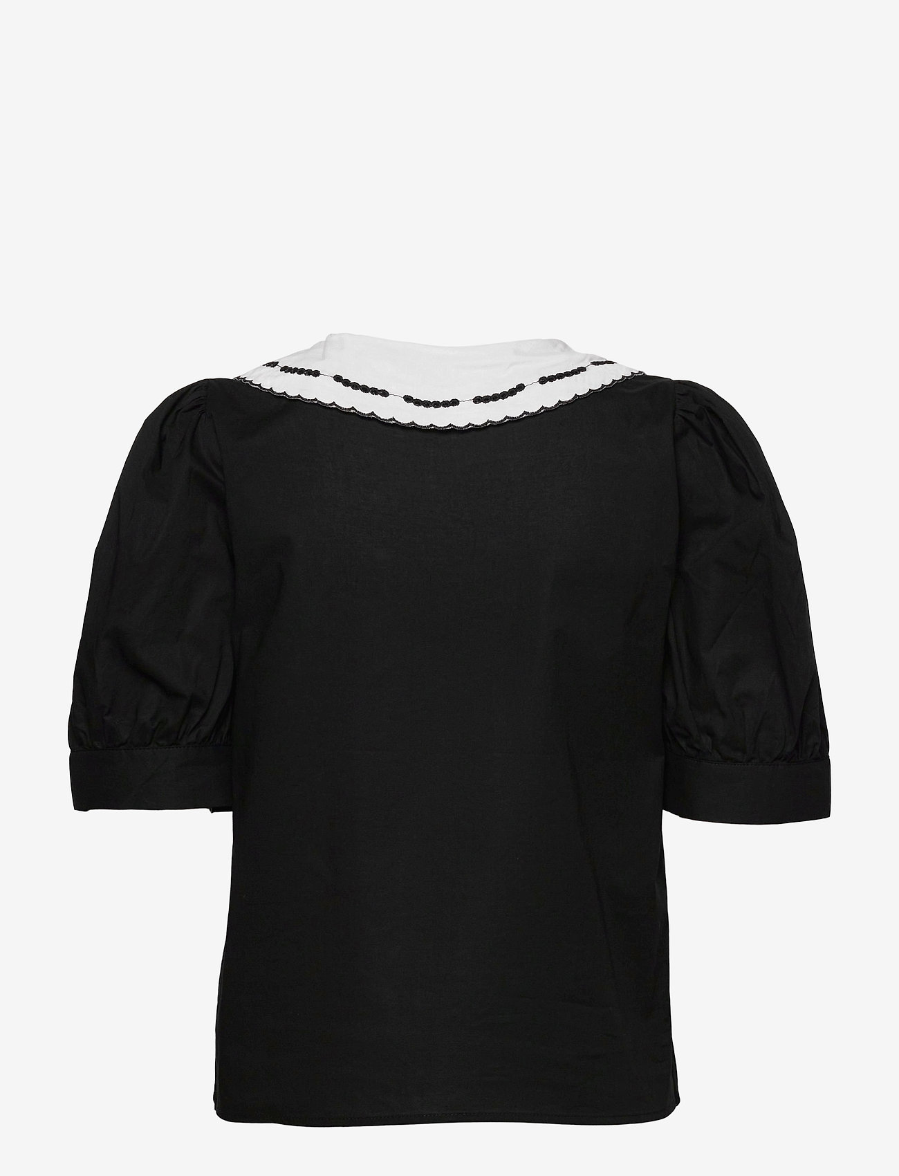 Soaked in Luxury - SLFlor Shirt - short-sleeved shirts - black - 2