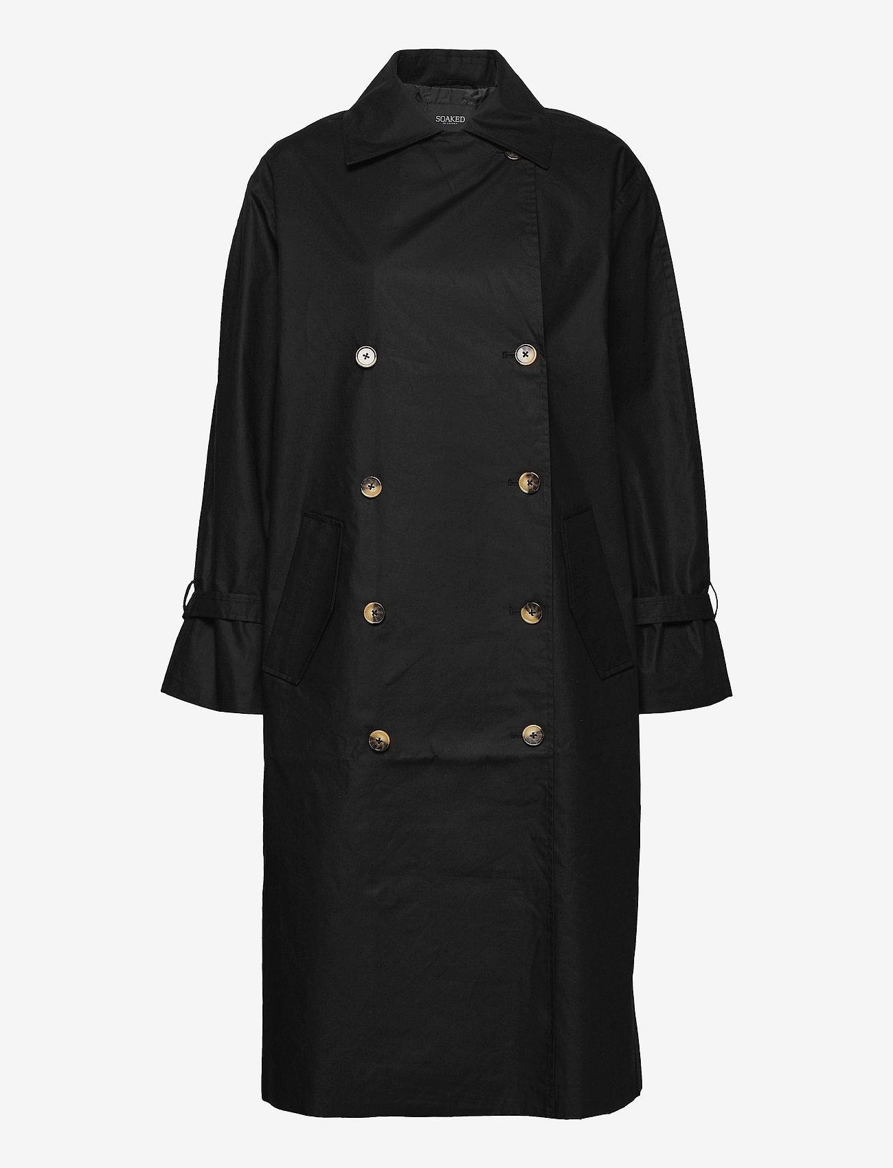 Soaked in Luxury - SLOhio Trench Coat - trenchcoats - black - 1
